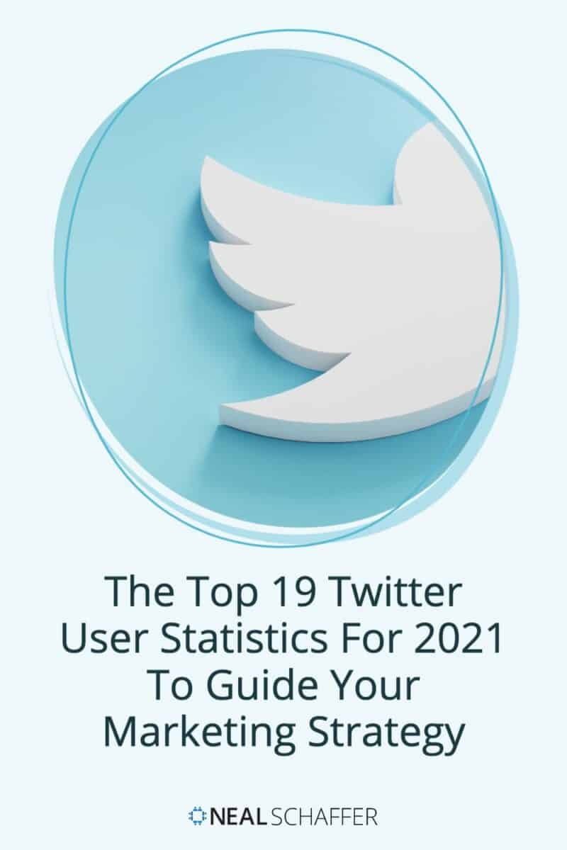 """While not the sexiest of social networks, Twitter marketing delivers ROI for those that """"get it."""" These Twitter user statistics for 2021 will"""