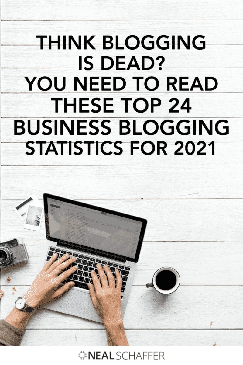 Whether you have started blogging for your business or not, these are the top 24 business blogging statistics that will inspire your strategy.