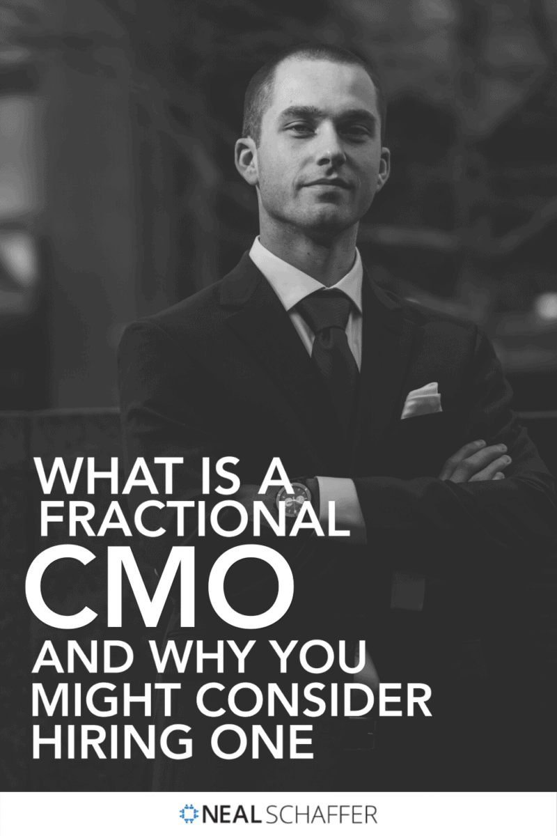 Looking to tap into marketing expertise for your organization? You might want to consider hiring a Fractional CMO. Here's why.