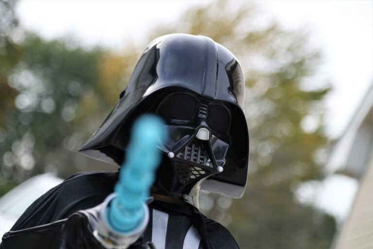 The Dark Side of Facebook with Darth Vader of Star Wars