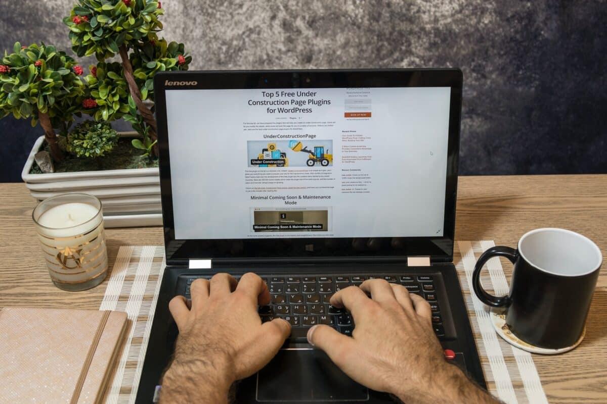 Blog heading